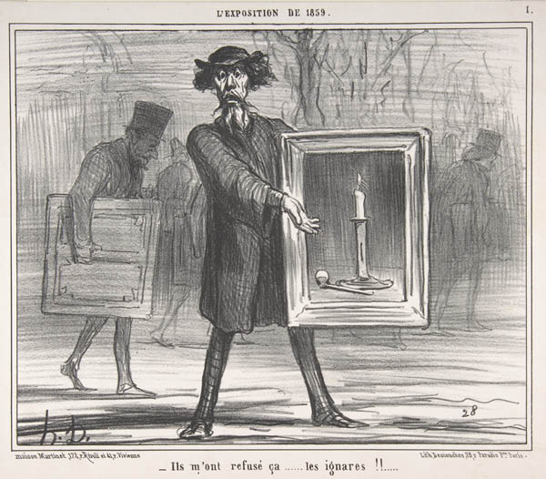 Gurney journey daumier 39 s cartoons on art for Devant le miroir manet