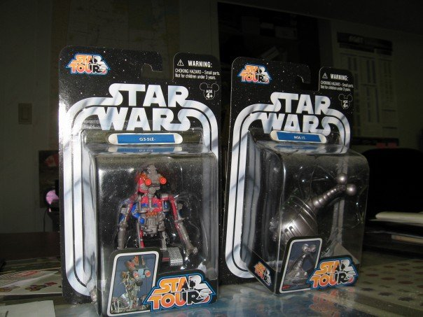 My original Star Tours action figures