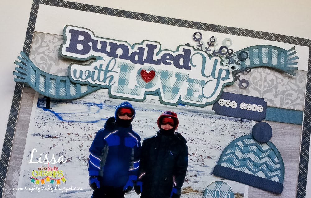 Bundled Up With Love by Lissa Mitchell -- Created with Miss Kate Cuttables