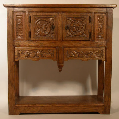 miniature French regional cabinet