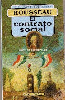 el contrato social Rousseau