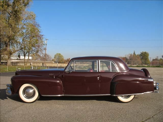 daily turismo 20k museum quality 1946 lincoln continental v12. Black Bedroom Furniture Sets. Home Design Ideas