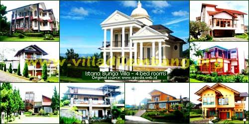 <b>Villa Istana Bunga 4 Kamar</b>