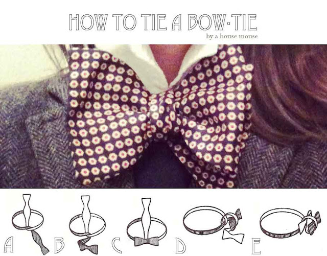 How to a tie a bow-tie instructions