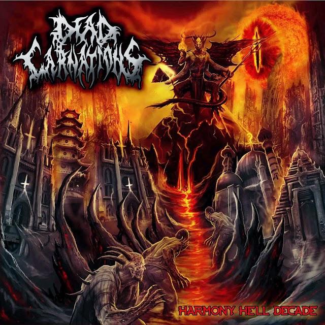 Dead Carnations - Harmony Hell Decade CD 2014