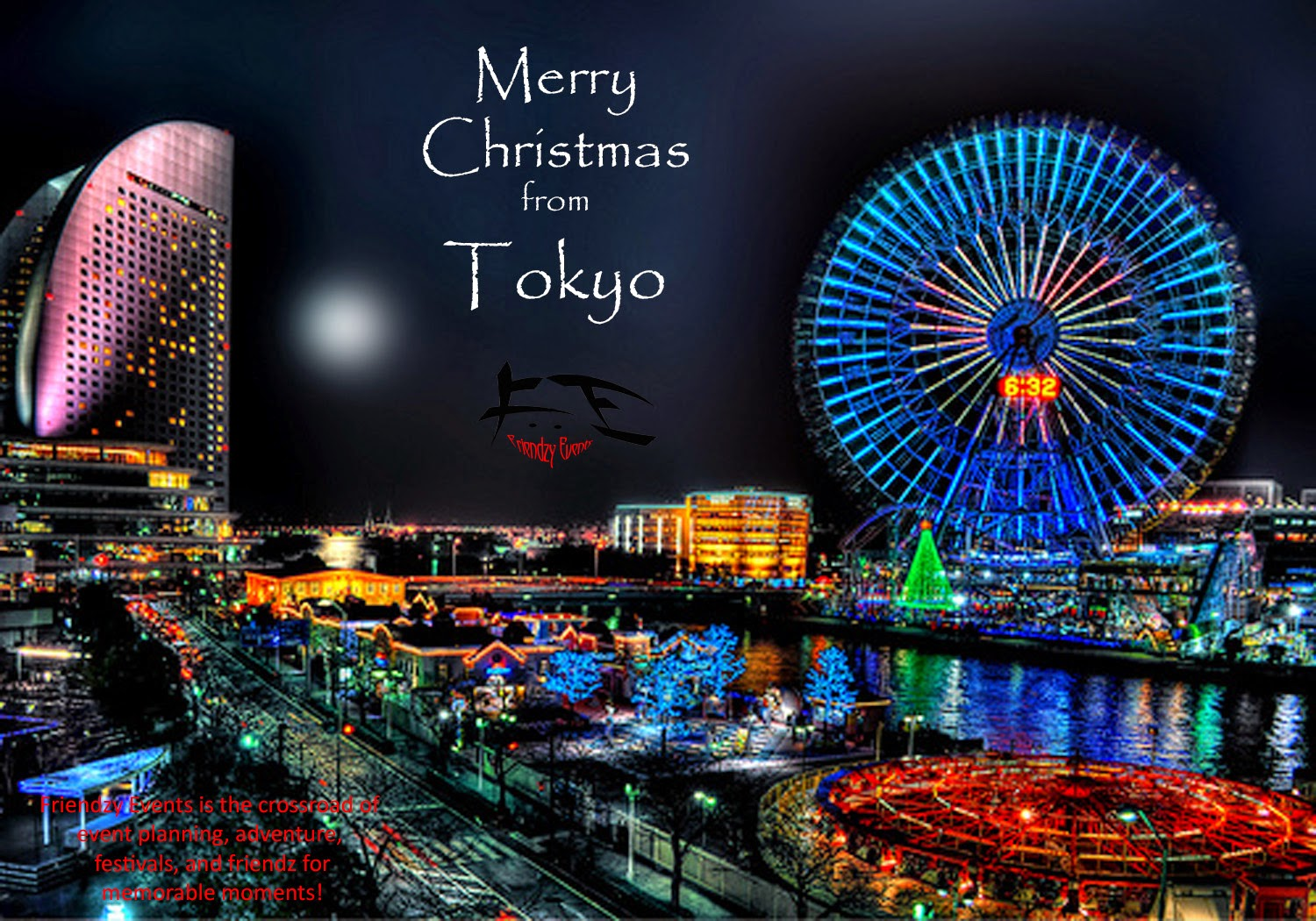 merry christmas from tokyo