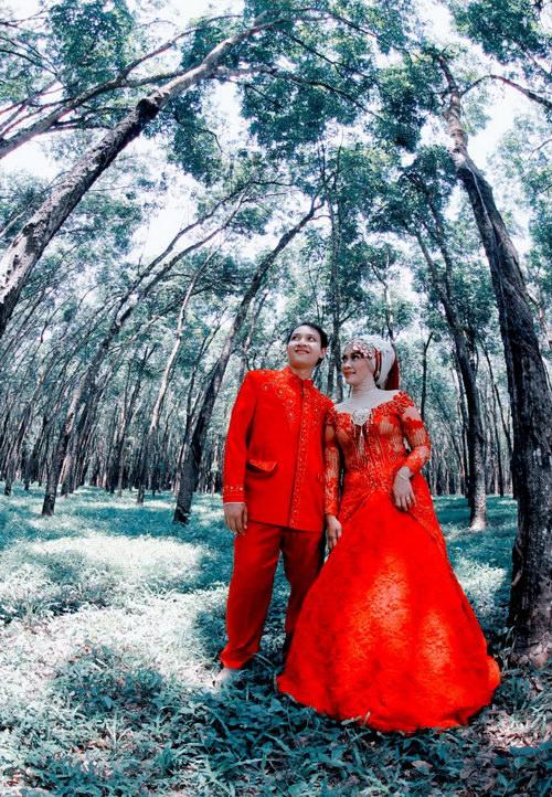 Photo Pre Wedding Outdoor Semarang