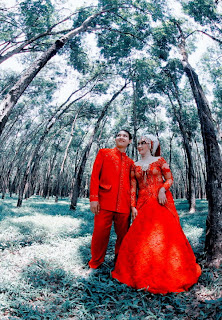 Photo Pre Wedding Outdoor Semarang