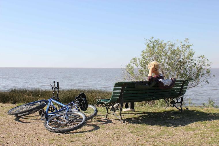 Sykkeltur i naturreservat
