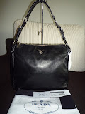 PRADA SACCA LEATHER BAG