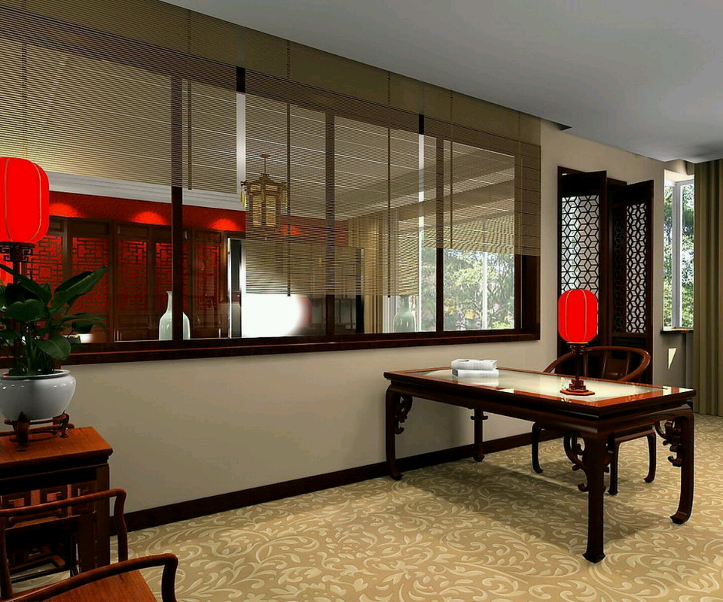 Study Room Interior Design Ideas 1 Study Room Interior: New Home Designs Latest.: Modern Homes Studyrooms Interior