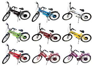 Bike Elétrica Scooter Brasil.
