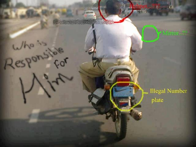 584. Indian traffic rules