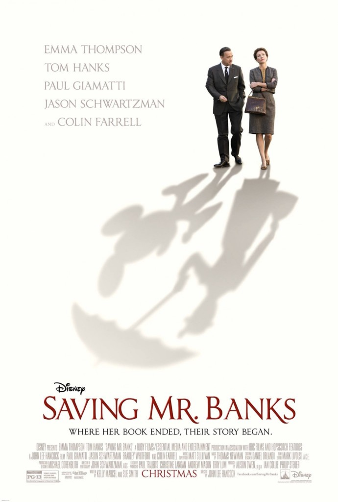Disney Saving Mr. Banks Movie Poster