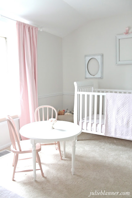 Adalyn 39 s pink and cream bedroom julie blanner for Cream and pink bedroom ideas