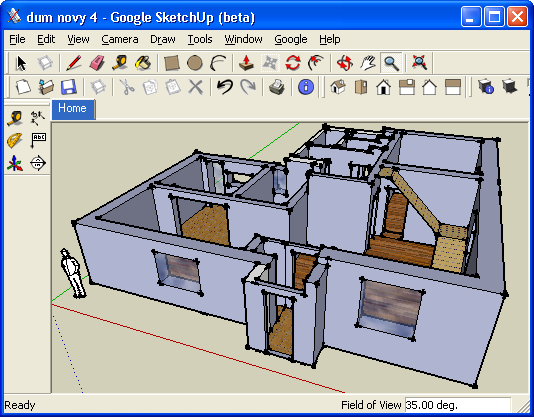 Sketchup programa 3d for Programas para diseno 3d