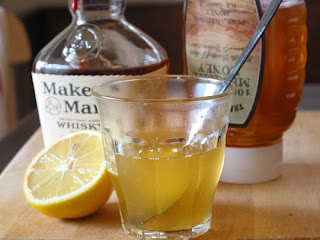 Whiskey, Honey, and Lemon