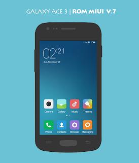 Install ROM Miui v7 for Samsung Galaxy ACE 3 - CO School