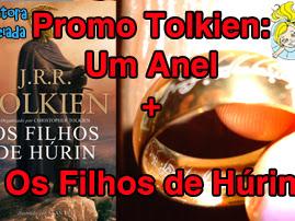 Promo Especial Tolkien: Réplica do Um Anel + Livro Os Filhos de Húrin