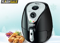 Buy Pigeon AF-Super 2.2-Litre Air Fryer at Online Lowest Best Price Offer Rs. 3191 after cashback