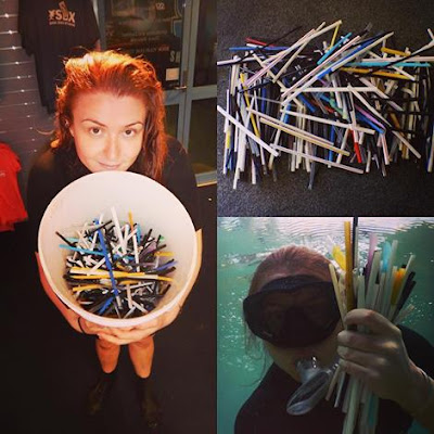 Plastic straws; public enemy # 1