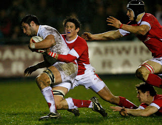 Rugby : England vs Wales (Full Match) 06.08.11  Eng