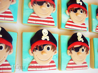 Little pirate cookies