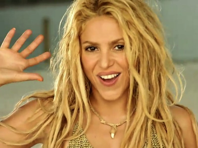 shakira best video moment