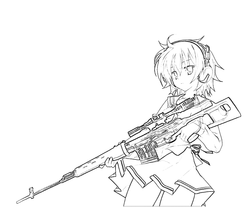 sniper coloring pages - photo#6