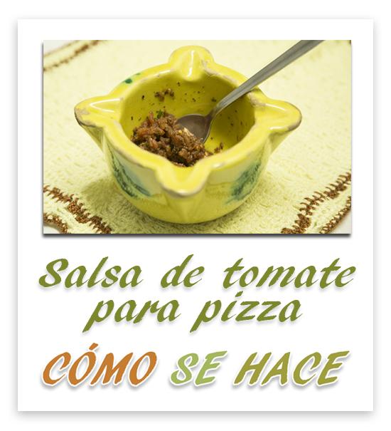 SALSA DE TOMATE...