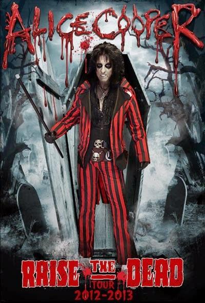 DVD Alice Cooper Raise the Dead Live from Wacken