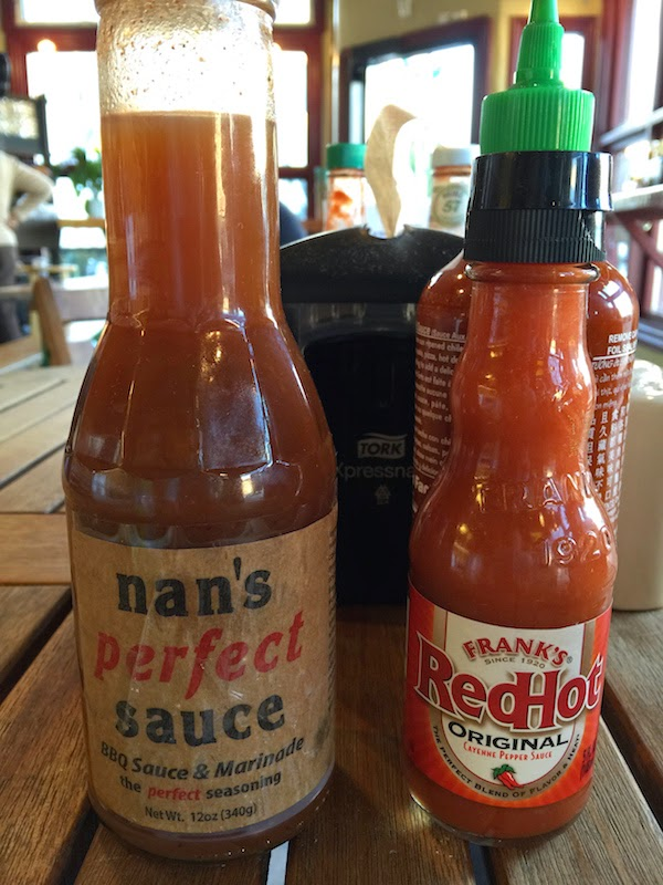 Nan's Perfect Sauce is on the table at Sacred Wheel Cheese Shop