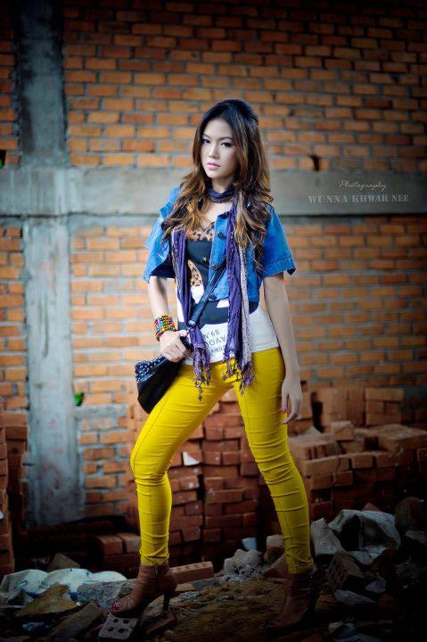 Khin Thazin - Pretty Myanmar Girls