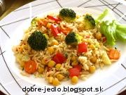 Cícerové rizoto s brokolicou - recept