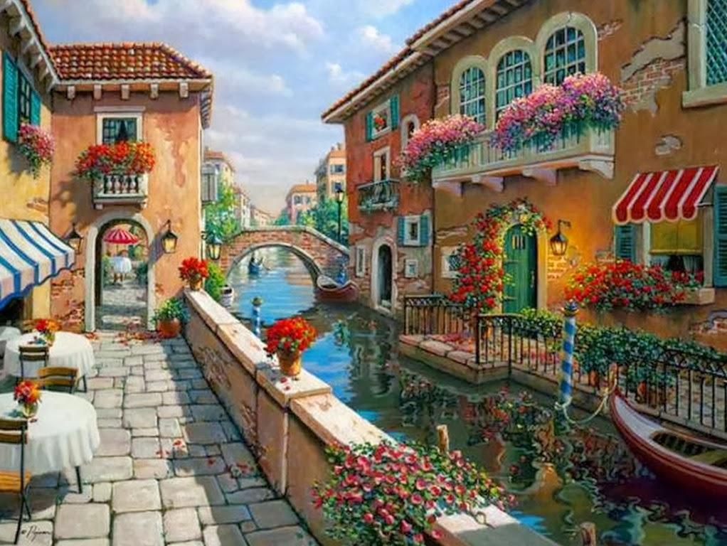 Cuadros modernos pinturas y dibujos galer a paisajes for Comprar cuadros bonitos