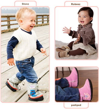 Baby & toddler booties