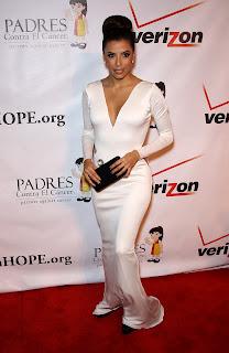 Eva Longoria attends Padres Contra El Cancer Benefit Gala 2012