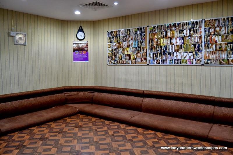 Al Marasim salon's henna area