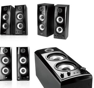 altavoces Genius PC y TV