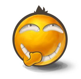 Secret Laugh Emoticon