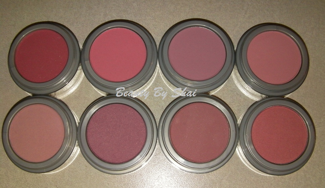 Beauty by shai jordana blushes review amp swatches