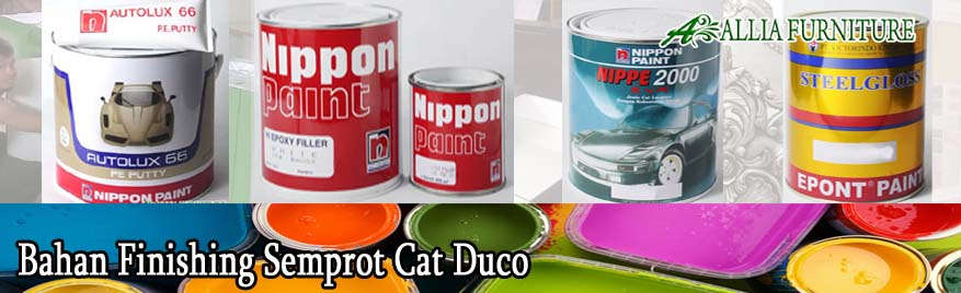 Bahan Finishing Semprot Cat Duco
