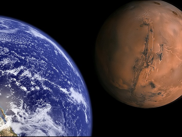 Life on Earth originated from Mars photo [Image credit- Flickr, BlueDharma]