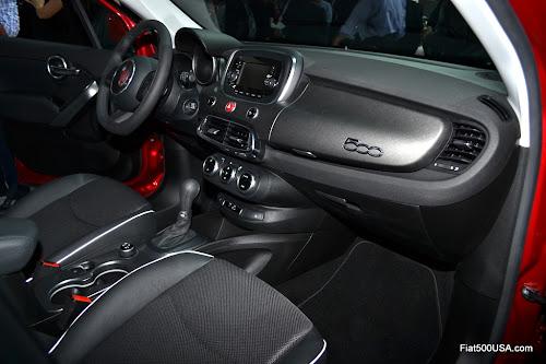 Fiat 500X Trekking Dashboard