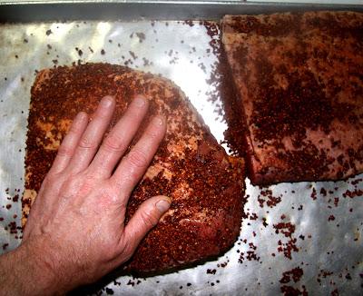 pastrami rub brisket