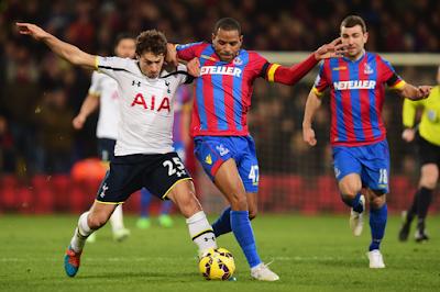 Prediksi Skor Tottenham Hotspur vs Crystal Palace 20 September 2015