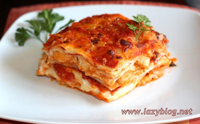Como Cocinar Lasaña | Lazy Blog Receta De Lasana Del Mar Paso A Paso