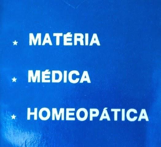 Matéria Médica Homeopática