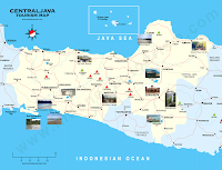 tourism maps central java