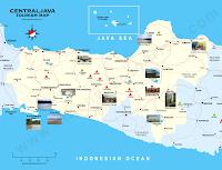 tourism maps central java